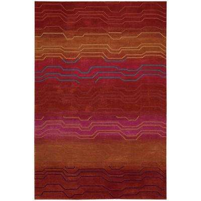 Contour Sunburst 8 ft. x 11 ft. Area Rug