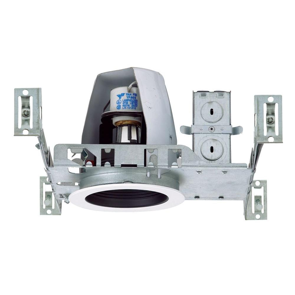 NICOR 4 in. Recessed Non-IC Rated Airtight Housing