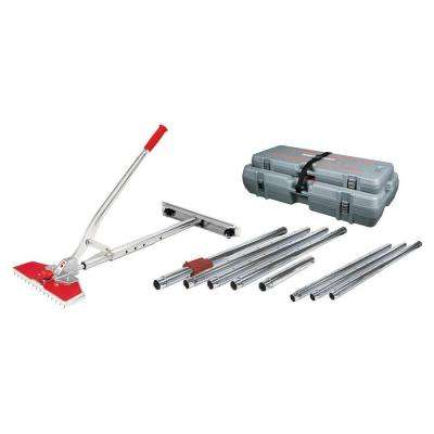 Junior Power Carpet Stretcher Value Kit with Case and 38 ft. Stretching Length