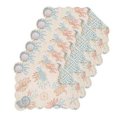 Seabrook Tan Placemat (Set of 6)