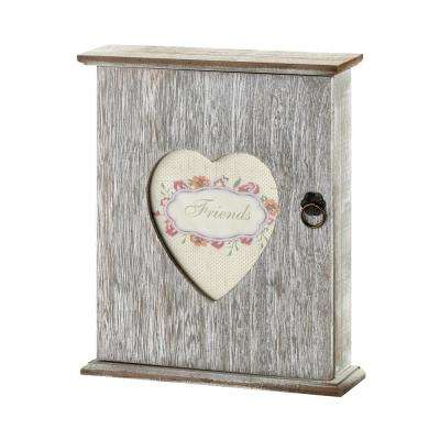 Country Style Wood Key Cabinet Box