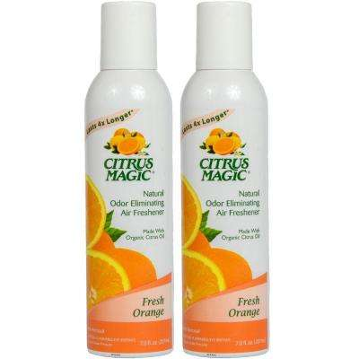 6 oz. Fresh Orange Natural Odor Eliminating Air Freshener Spray (2-Pack)