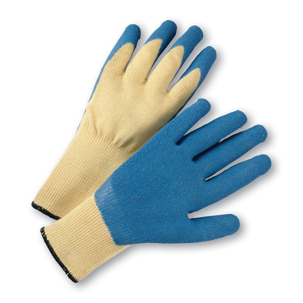 Large Latex Coated Kevlar Dozen Pair Gloves