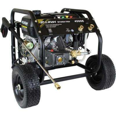 Hydro Pro Series 4,500 psi 4.0 GPM AR Tri-Plex Pump Electric Start Gas Pressure Washer with Panel Mounted Controls CARB