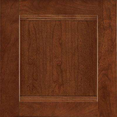 14-1/2x14-9/16 in. Cabinet Door Sample in Del Ray Cherry Spice