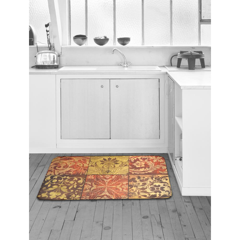 Merveilleux Home Dynamix Designer Chef Red Mosaic 24 In. X 36 In. Anti Fatigue