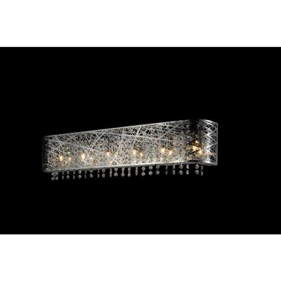 Eternity 4-Light Chrome Sconce