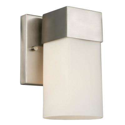 Ciara Springs 1-Light Brushed Nickel Bath Light