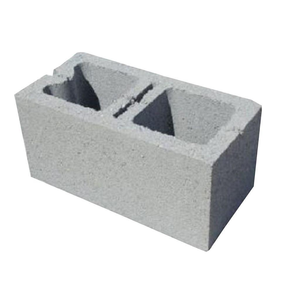 8 in. x 8 in. x 16 in. Corner Sash Concrete