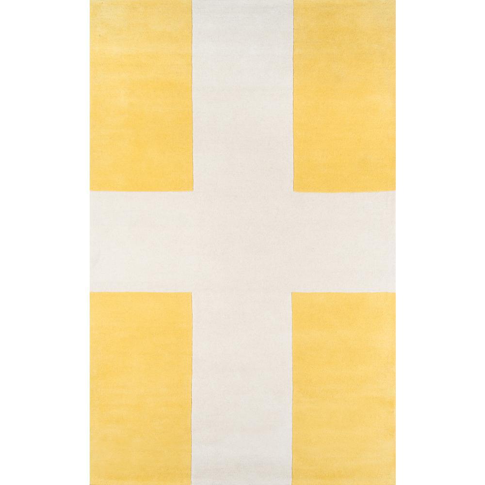 Chevalier Yellow 8 ft. x 10 ft. Indoor Area Rug