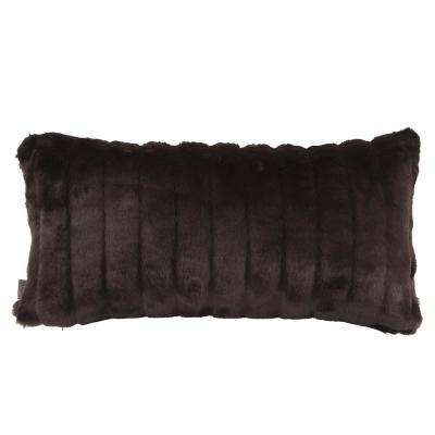 Mink Black Kidney Decorative Pillow