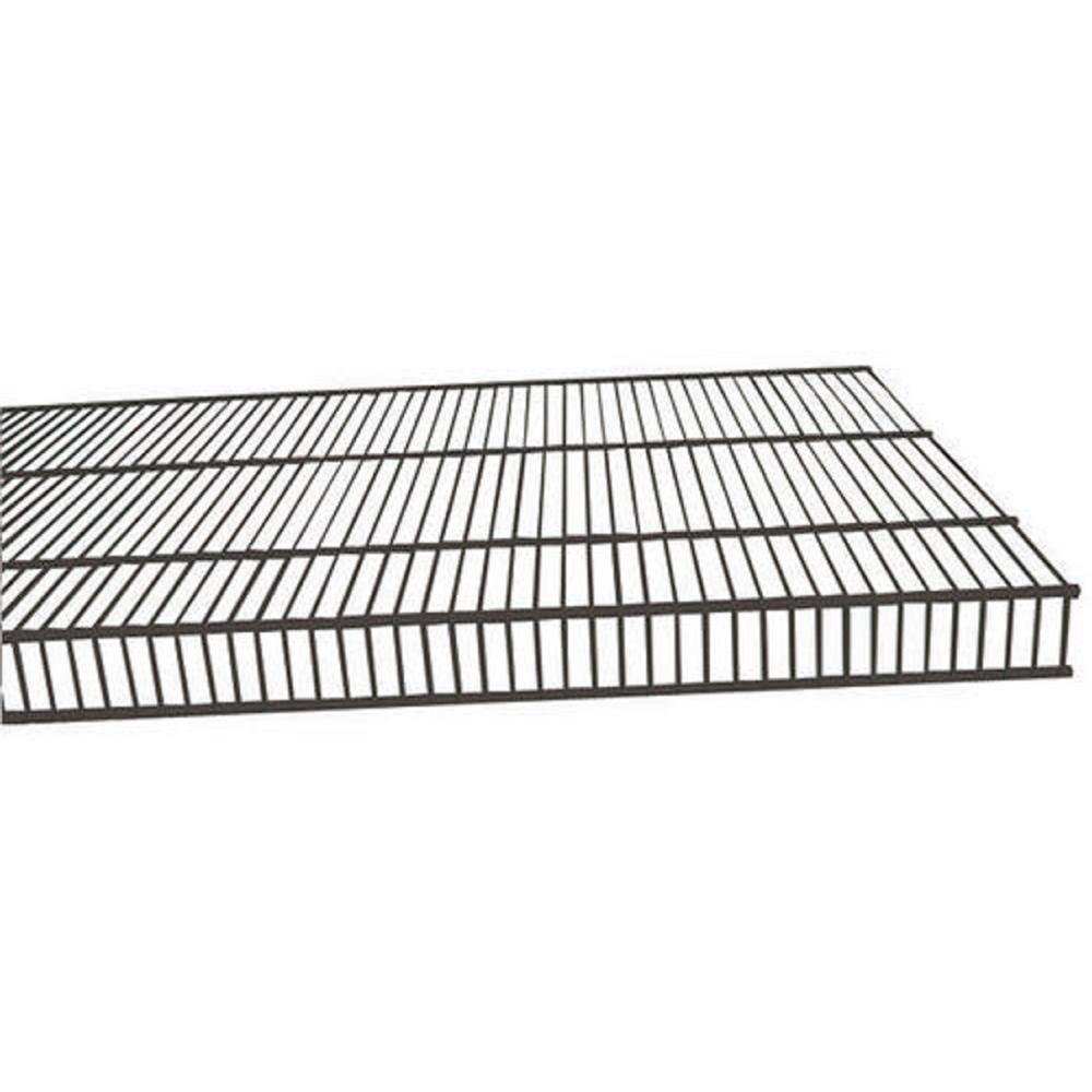 Rubbermaid Tough Stuff 8 ft. x 16 in. Wire Shelf-FG3F4918GRAY - The ...