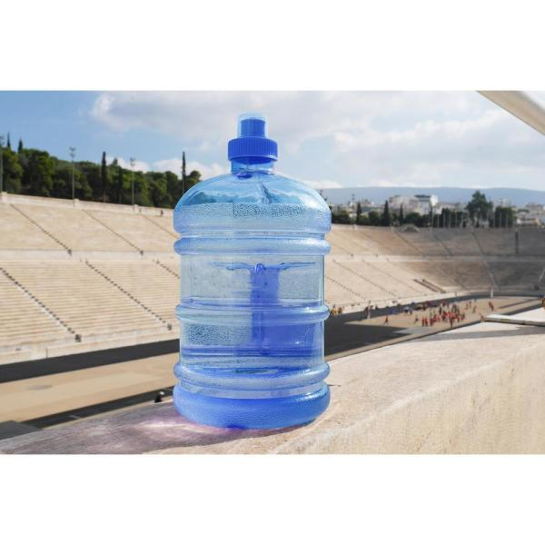 5 Piece Pack New H8O® 1 Gallon Polycarbonate Round Water Bottle w//Handle
