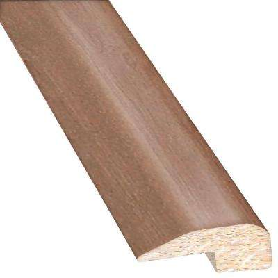 Birch American Silvered 0.88 in. Thick x 2 in. Wide x 78 in. Length Hardwood Carpet Reducer/Baby T-Molding