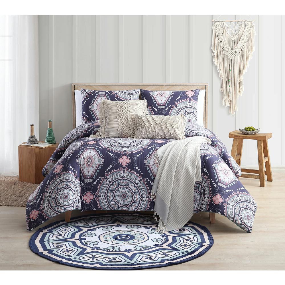 Kimana Blue Twin/Twin XL Comforter Set