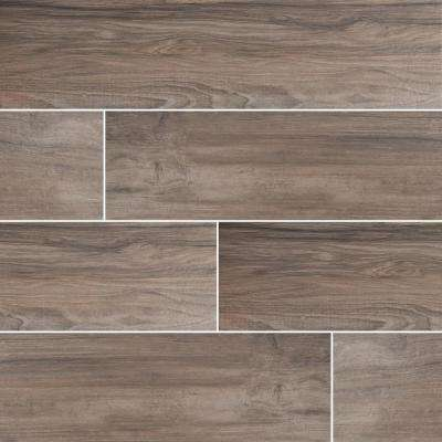 Timber Ash 8 in. x 36 in. Matte Porcelain Floor and Wall Tile (16 sq. ft. / case)