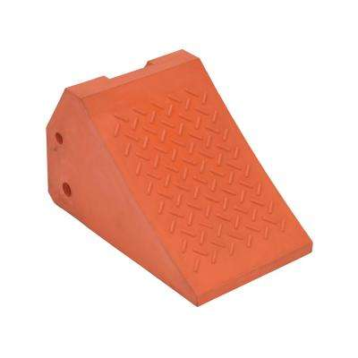 Plastic Coated Foam Filled Wheel Chock