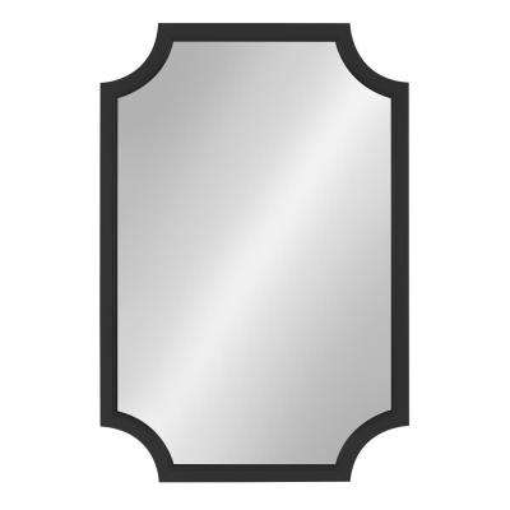 Hogan Scalloped Black Mirror