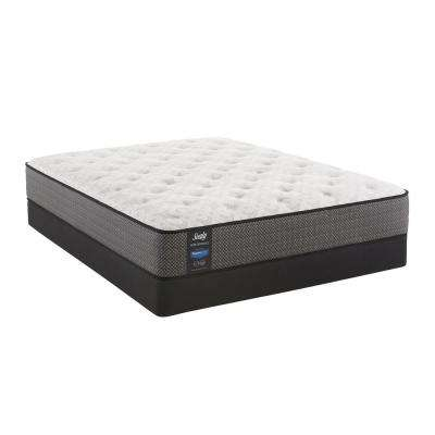 Response Performance 13 in. King Plush Faux Euro Top Mattress Set with 9 in. High Profile Foundation