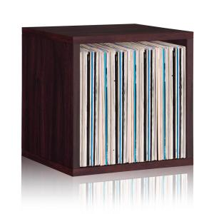 15 in. H x 15 in. W x 13 in. D Espresso Recycled Materials 1-Cube Storage Organizer