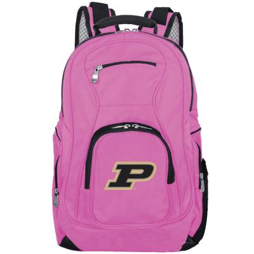 NCAA Purdue Boilermakers 19 in. Pink Laptop Backpack