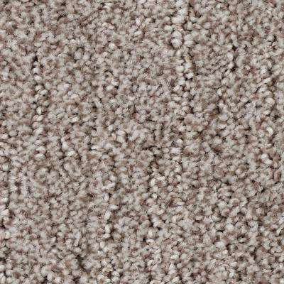 Carpet Sample - Chester - Color English Toffee Textured 8 in. x 8 in.
