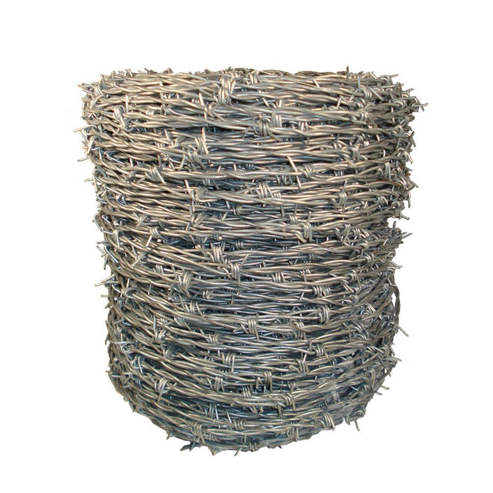 Deacero 11 in. x 450 ft. Gray Barbed-Wire-20-005-020 - The Home Depot