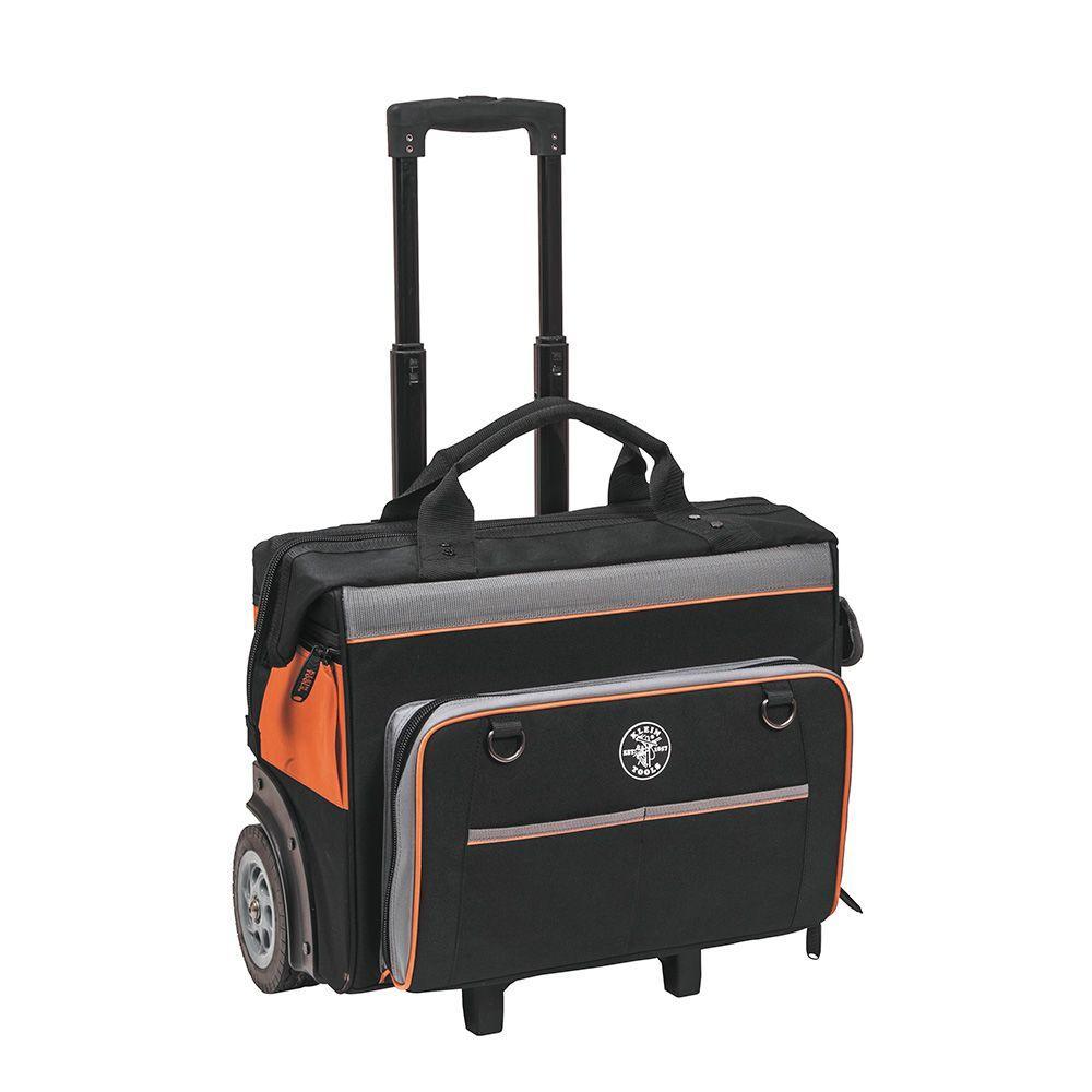 Klein Tools 19 In Tradesman Pro Organizer Rolling Tool Bag