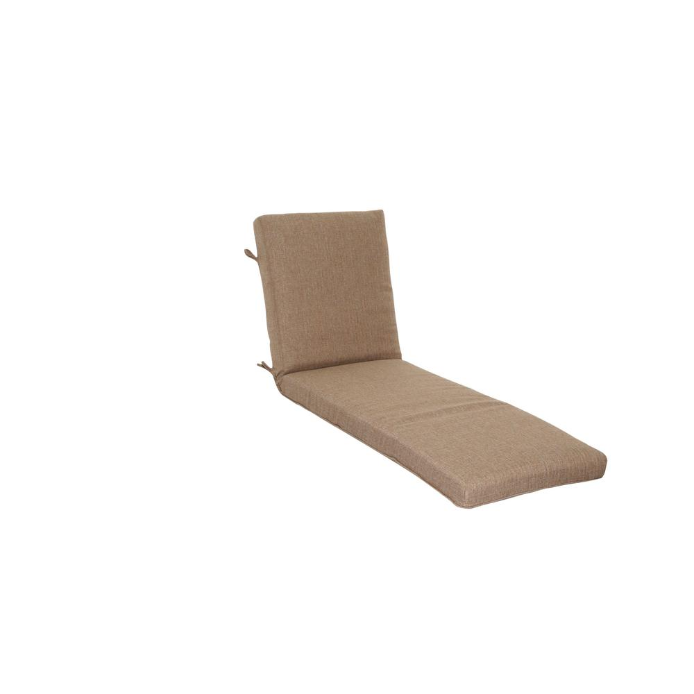 Saddle Texture Outdoor Chaise Lounge Cushion