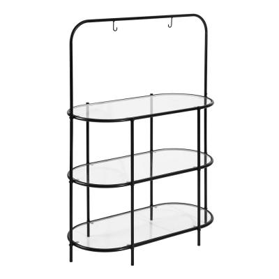 Sexton Black 3-Tiered Indoor Plant Stand