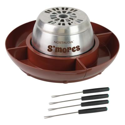 Brown Stainless Steel Electric S'mores Maker