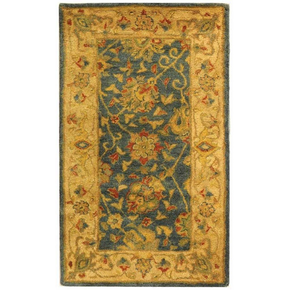 Safavieh Antiquity Blue 2 ft. x 4 ft. Area Rug
