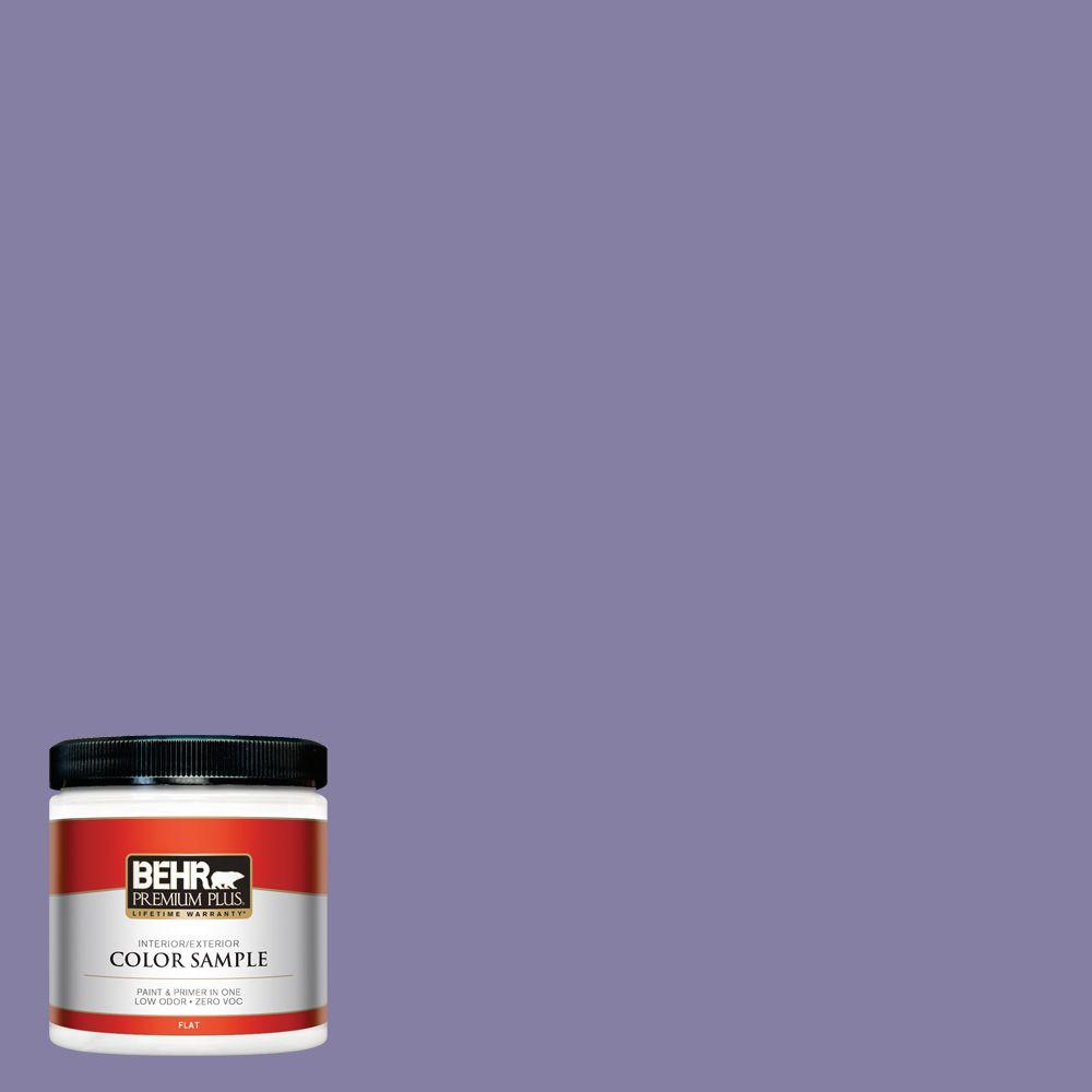 8 oz. #640D-6 Chinese Violet Interior/Exterior Paint Sample