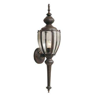 Newark Collection Rustic Patina Outdoor Wall-Mount Lantern