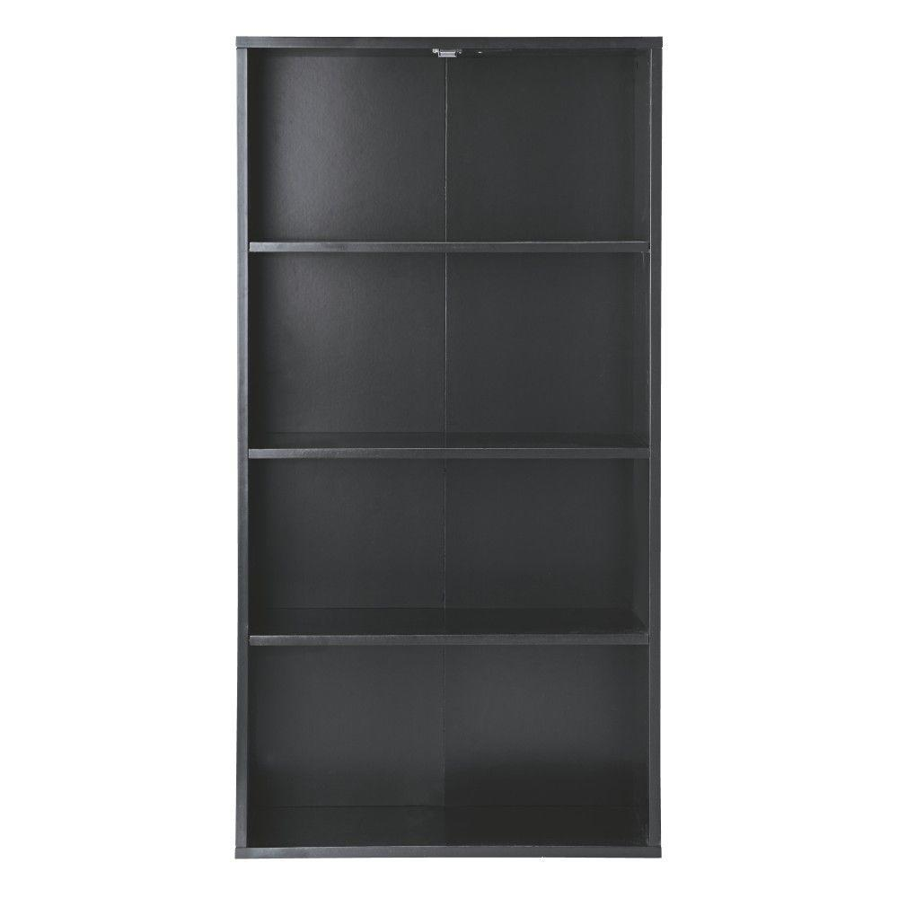 Home Decorators Collection Baxter Black 4 Shelf Storage Furniture