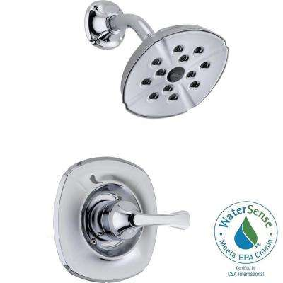 Addison 1-Handle 1-Spray Shower Faucet Trim Kit Only in Chrome Featuring H2Okinetic (Valve Not Included)
