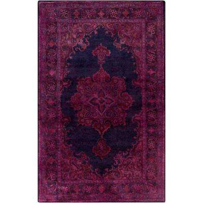 Peli Eggplant 5 Ft X 8 Indoor Area Rug