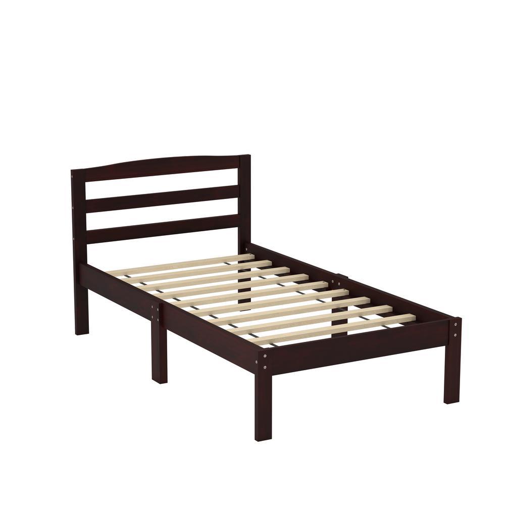 Jade Espresso Twin Bed