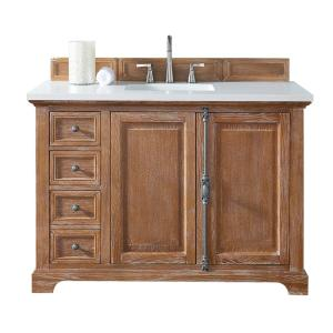 James Martin Signature Vanities Providence 48 inch W Single Vanity in Driftwood with... by James Martin Signature Vanities