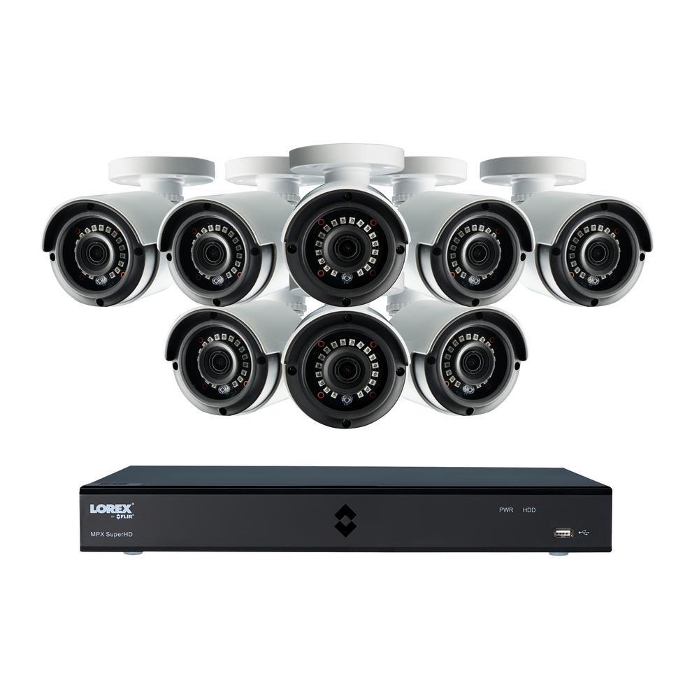 Lorex 16-Channel SuperHD 4MP 2TB HDD Surveillance DVR Sys...