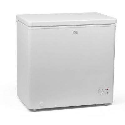 5.5 cu. ft. Defrost Chest Freezer in White