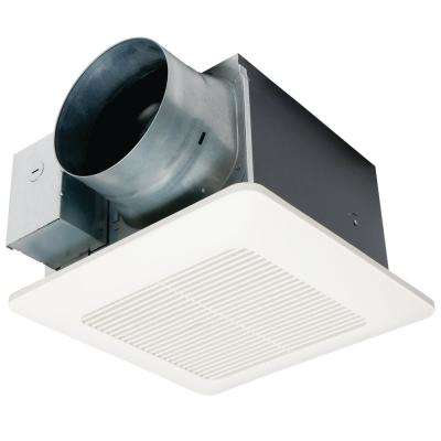 WhisperCeiling DC Fan with Pick-A-Flow Speed Selector 110/130 or 150 CFM and Flex-Z-Fast Installation Bracket