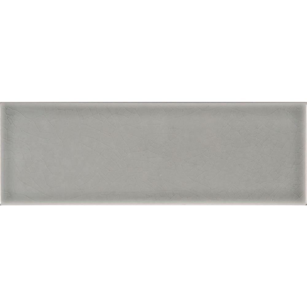 Subway gray backsplash tile flooring the home depot glazed ceramic wall tile 5 sq dailygadgetfo Image collections