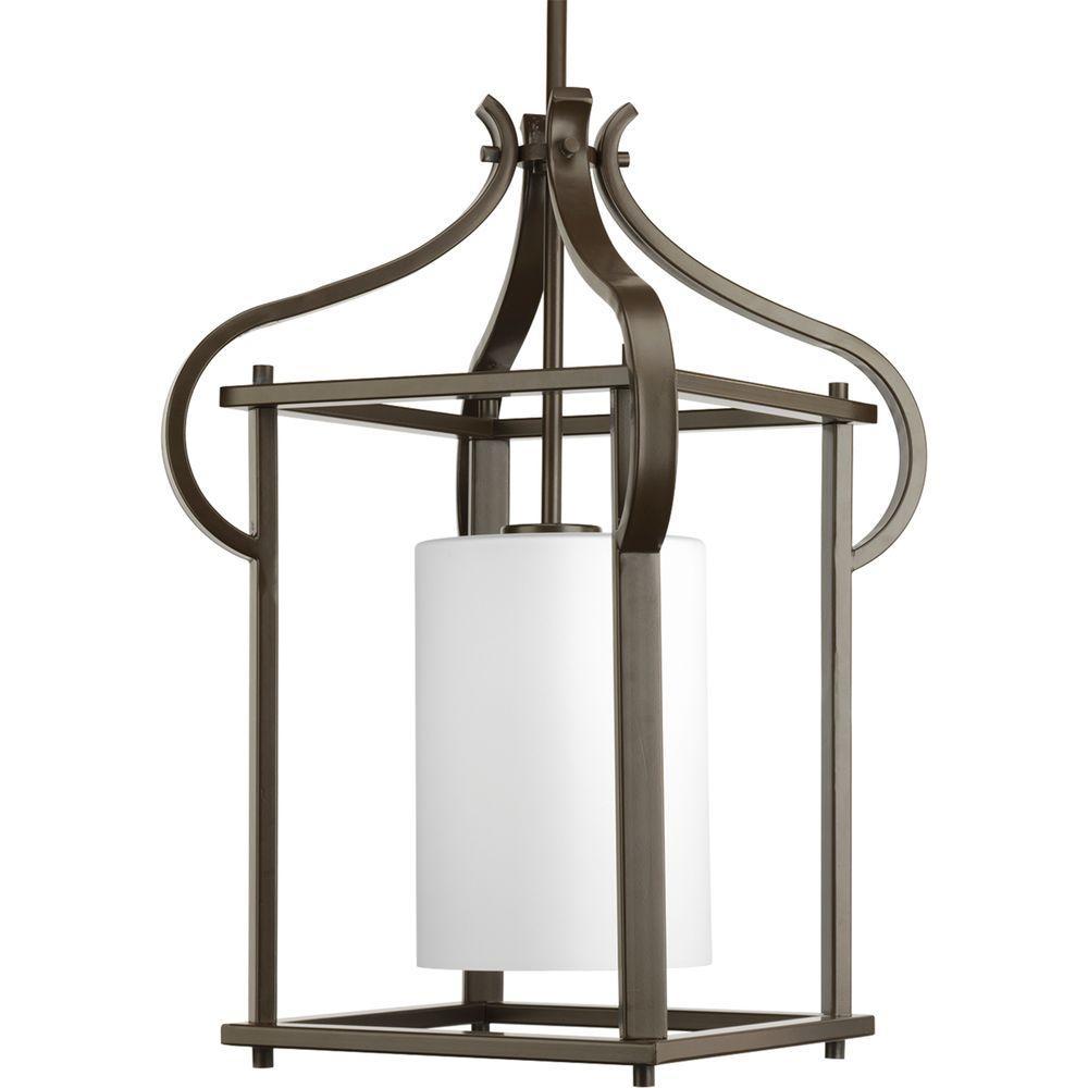 Progress Lighting Imperial Collection 1-Light Antique Bronze Hanging Lantern