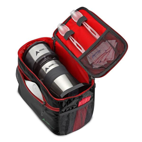 AdirChef Grab and Go Travel Red Pouch for Coffee Maker
