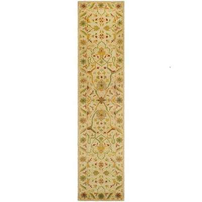 Antiquity Ivory 2 ft. x 10 ft. Runner Rug