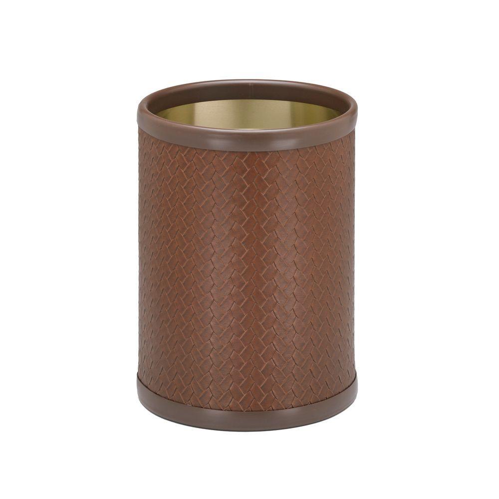 San Remo Pinecone 8 Qt. Round Waste Basket