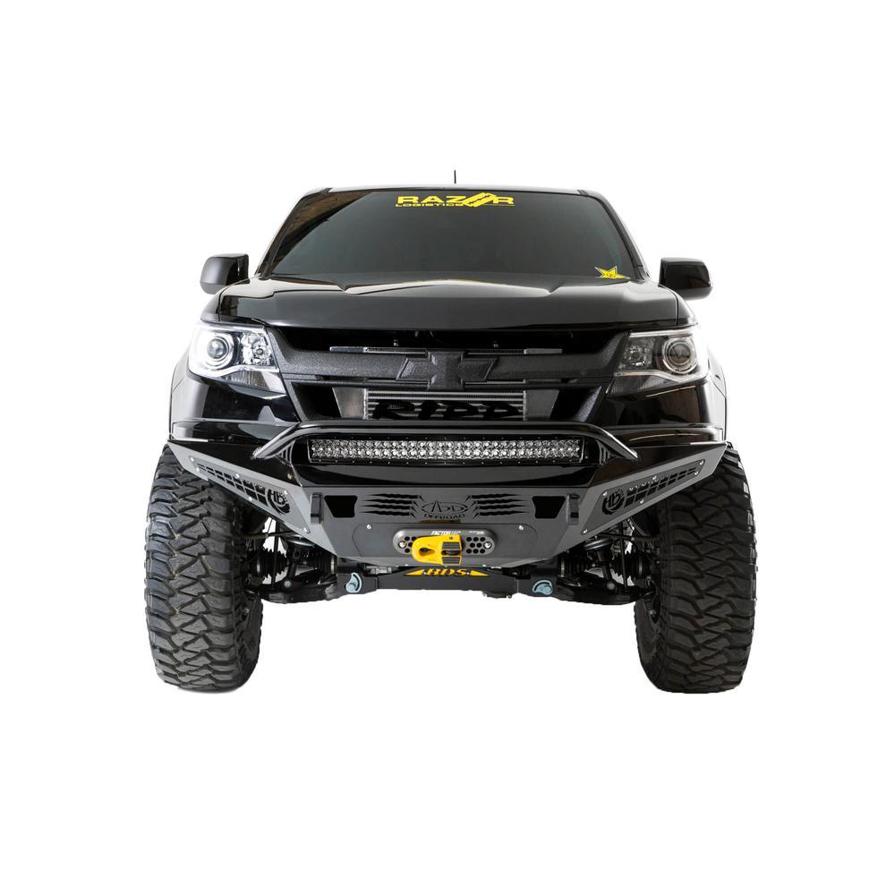 15-18 Chevy Colorado HoneyBadger Front Bumper w/ Winch Mount