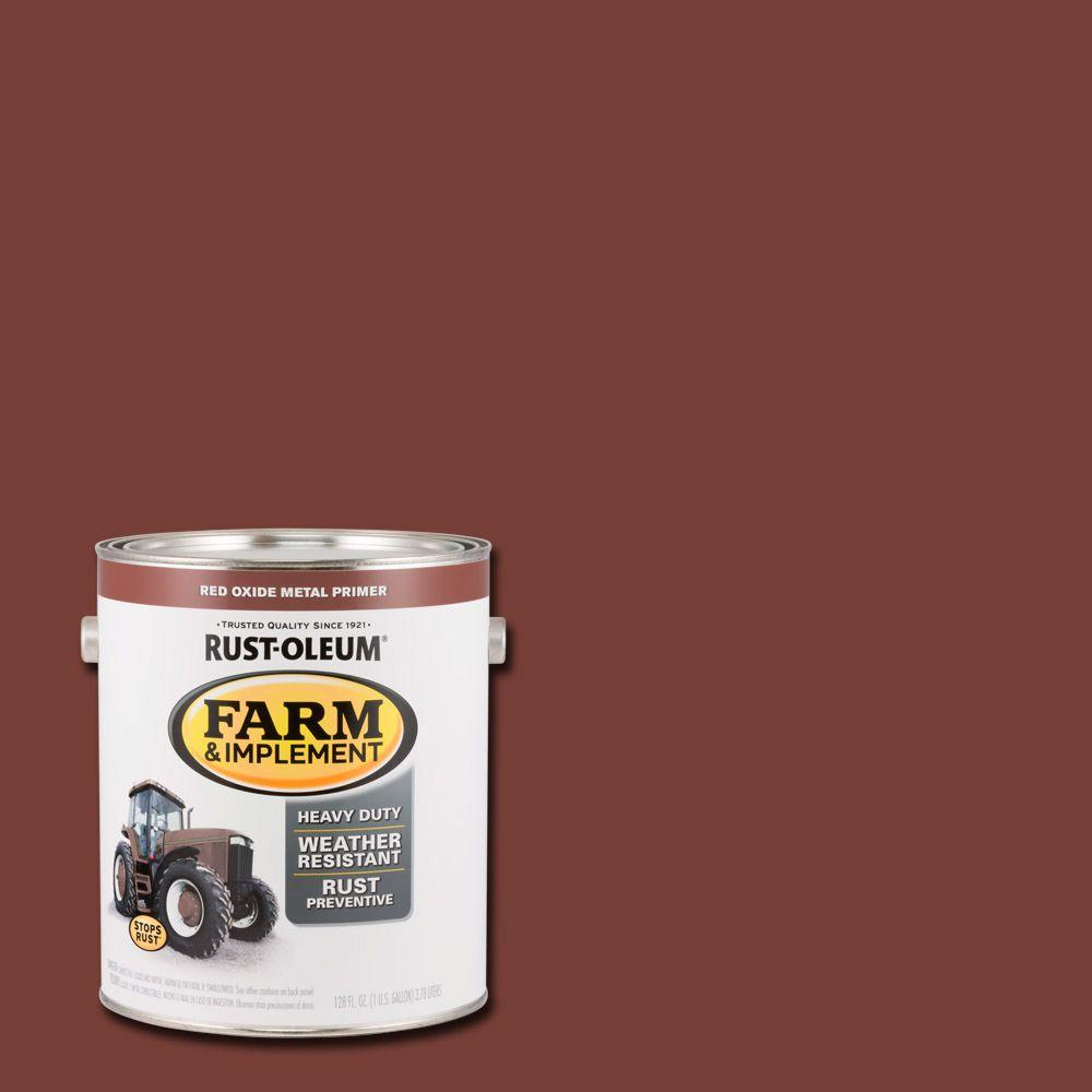 Rust Oleum 1 Gal Farm And Implement Red Oxide Metal