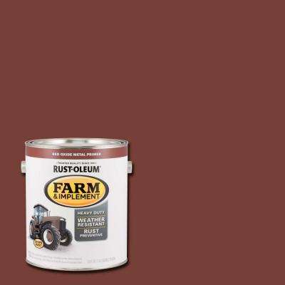 1 gal. Farm and Implement Red Oxide Metal Primer Paint (Case of 2)